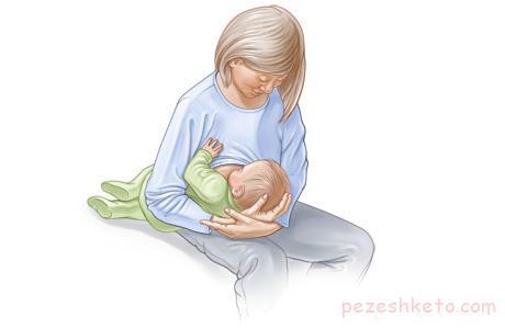 برنامه صحیح شیر دادن به نوزادان