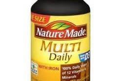 ضرورت مصرف مولتی ویتامین
