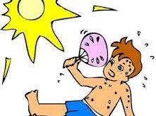 1 درمان گرمازدگی 221x165 - آفتاب زدگی چیست