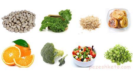 مواد غذایی دارای کلسیم