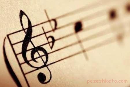 نت های موسیقی