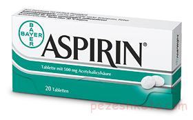 اطلاعاتی درباره خوردن آسپرین